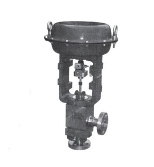 ZJHSL-320 气动高压角形调节阀