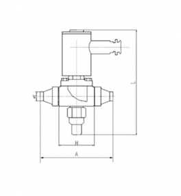 ZF-FB法兰系列2/2防爆制冷电磁阀