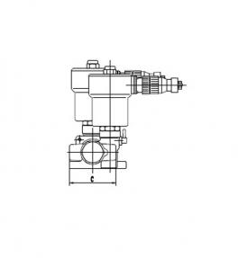 AM2T系列4/2核仪表双电控电磁阀